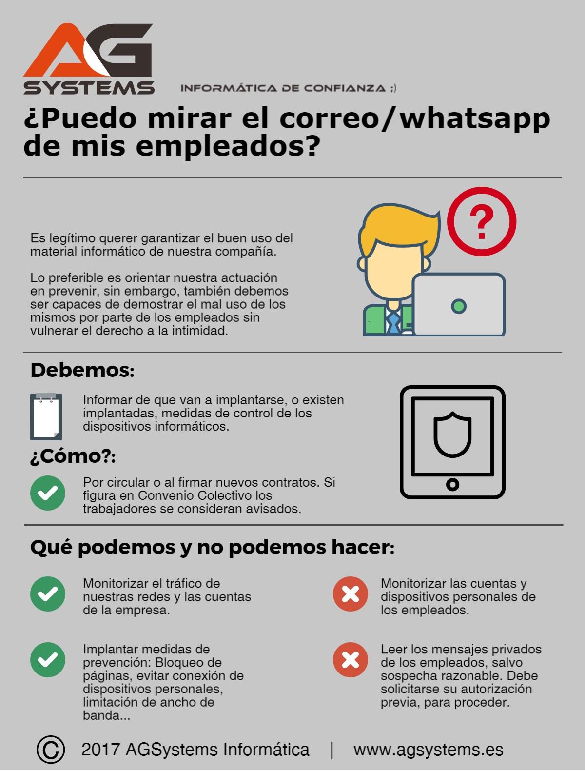 Puedo mirar el whatsapp o el correo de mis empleados? – AGSystems ...